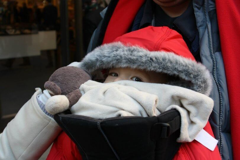 NYC at christmas with young kids