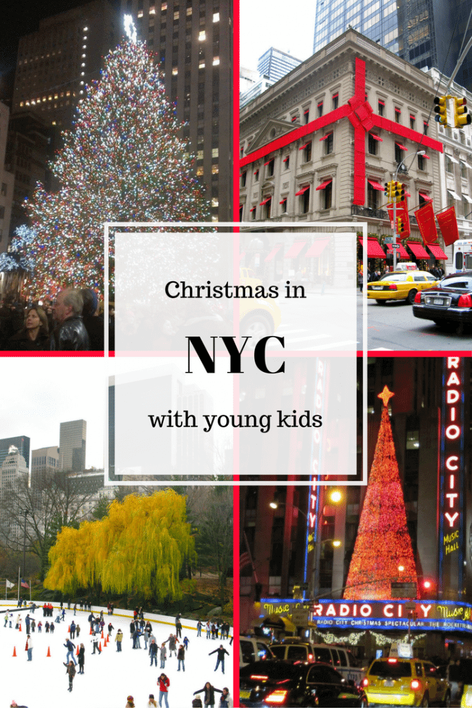 Christmas NYC young kids