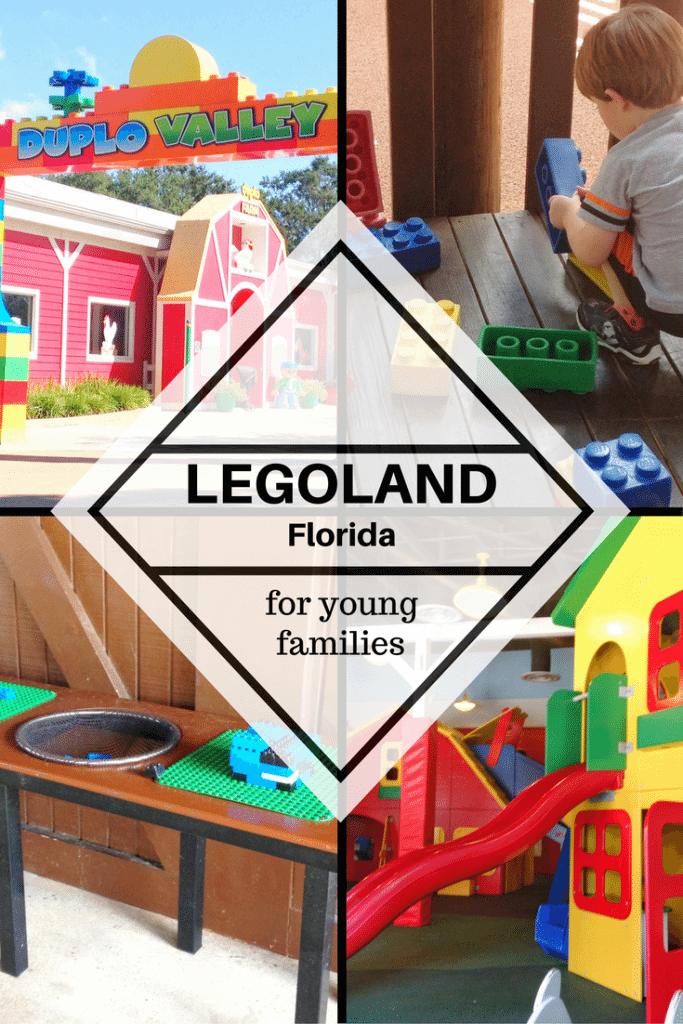 Legoland Florida with young kids