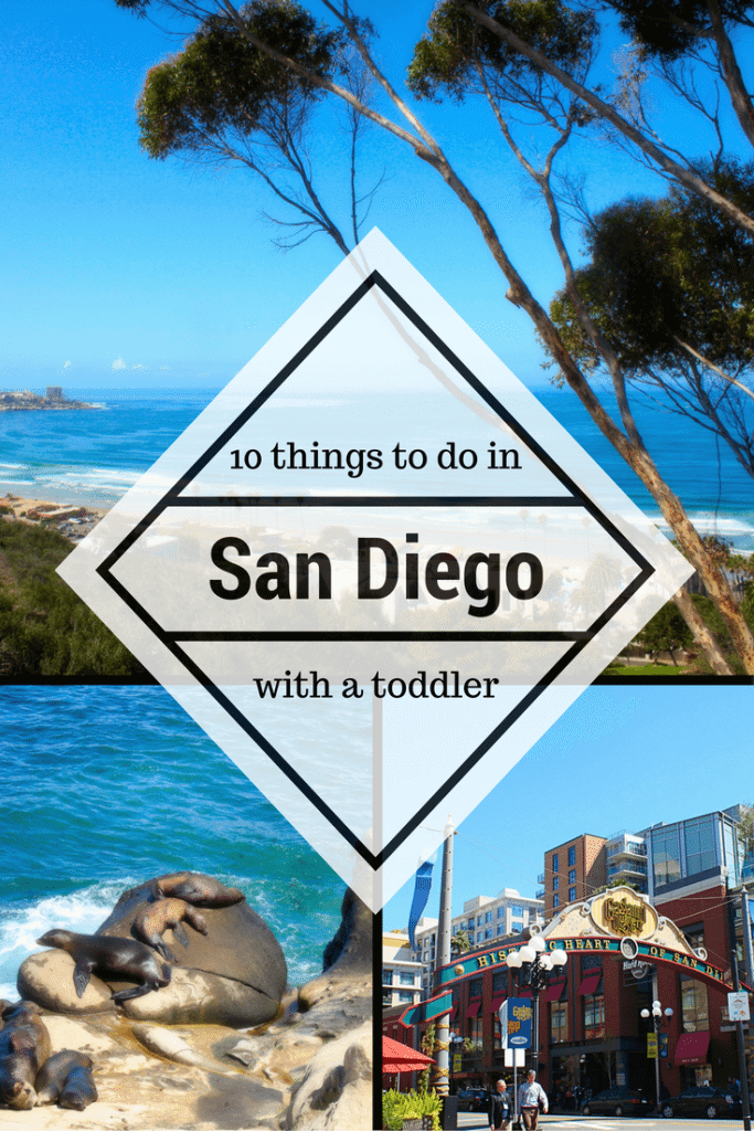 San Diego with a toddler