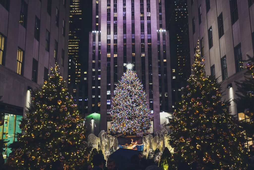 Christmas in NYC with kids