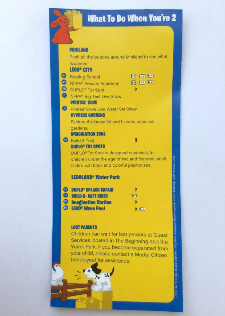 Legoland Florida guide for under 2s