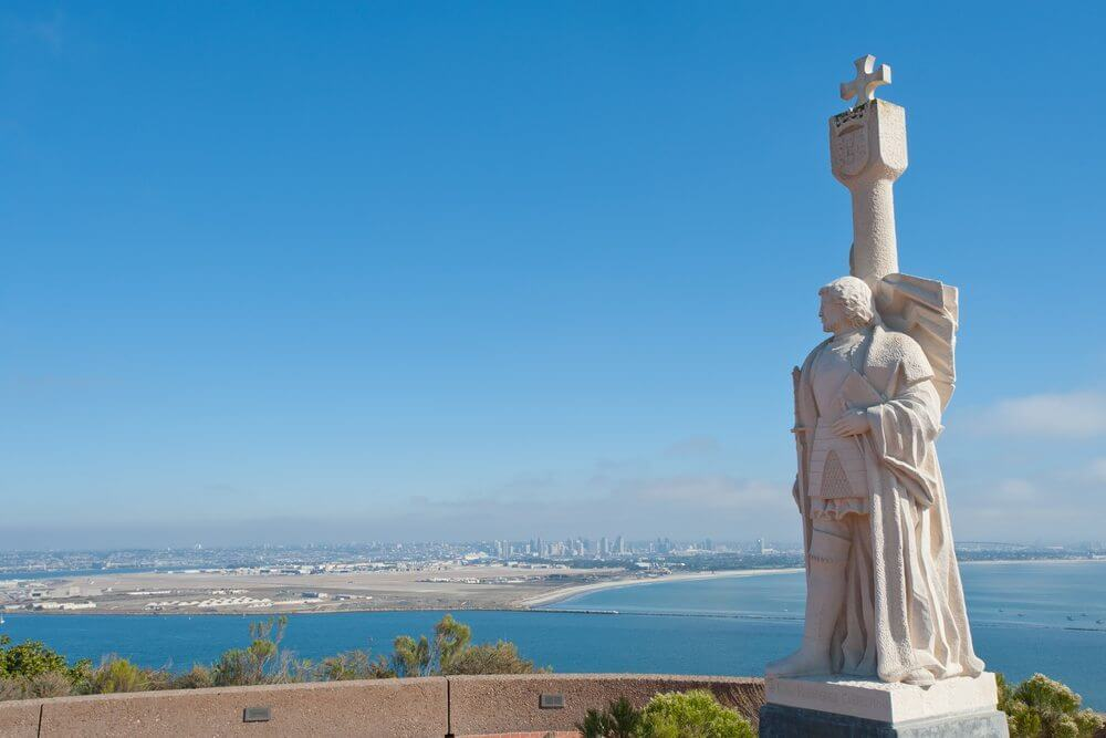 san diego with a toddler cabrillo