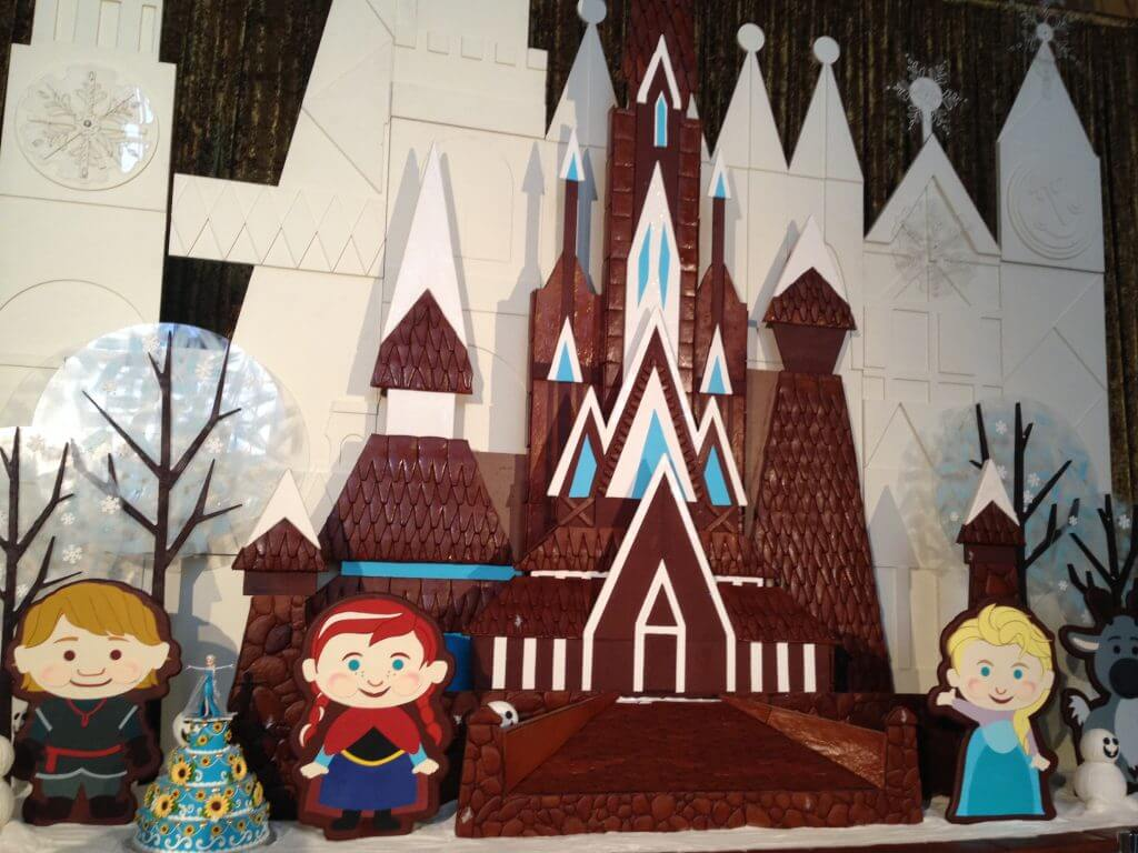 Christmas at Walt Disney World Contemporary Gingerbread