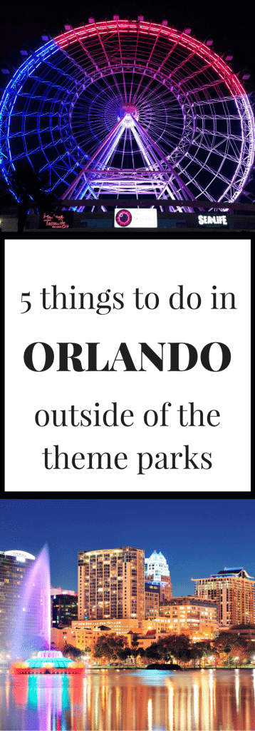 Orlando outside of the theme parks