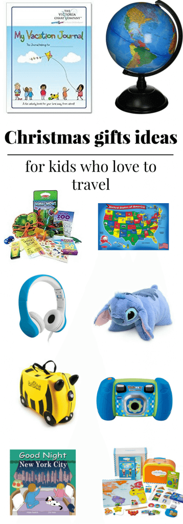 Christmas gifts for kids who love to travel