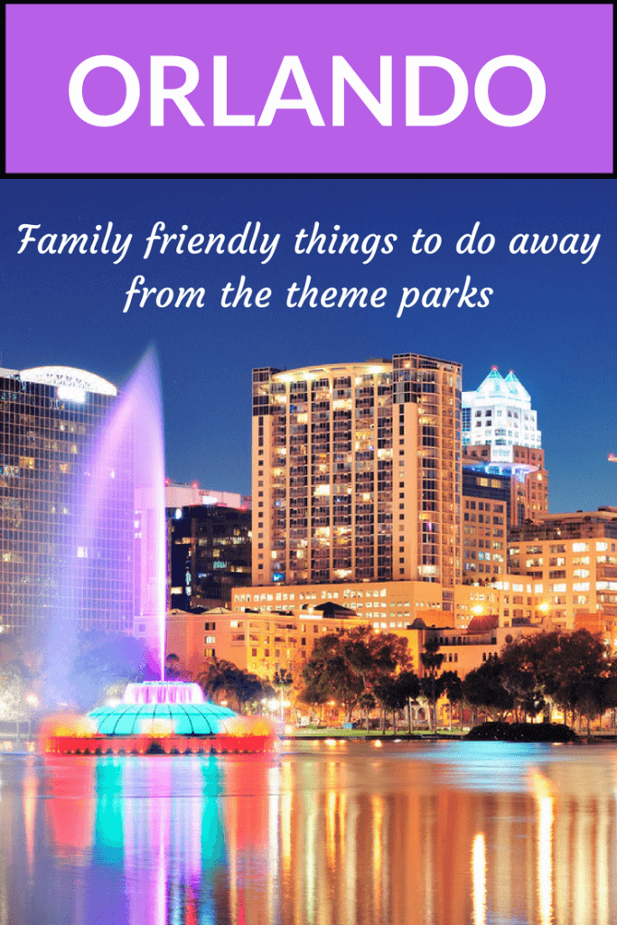 family friendly things to do in Orlando with kids
