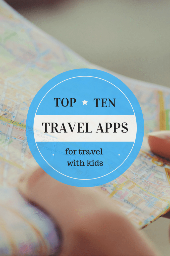 app for traveling with kids