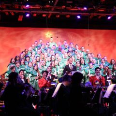 The best way to experience the Epcot Candlelight Processional with kids