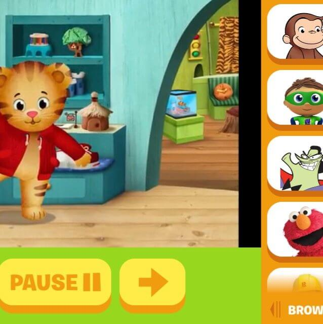 Apps for traveling with kids PBS Kids