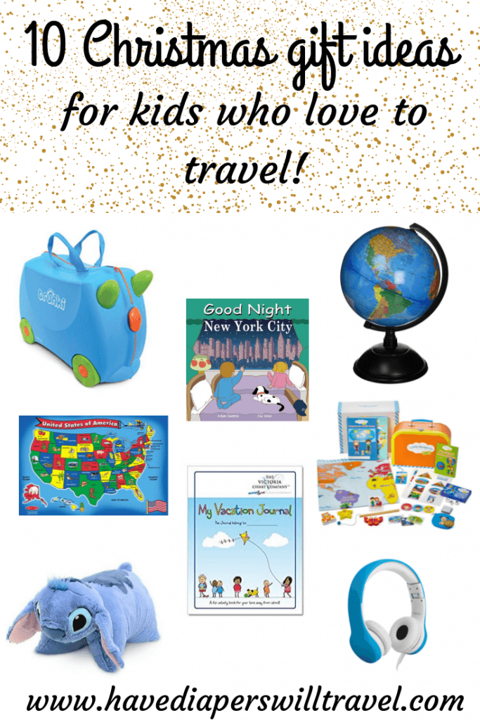 Christmas travel gifts for kids