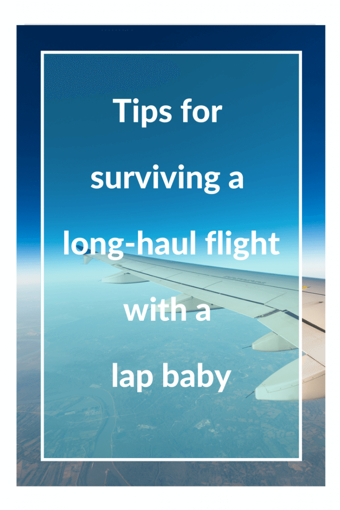 long haul flight with a lap baby