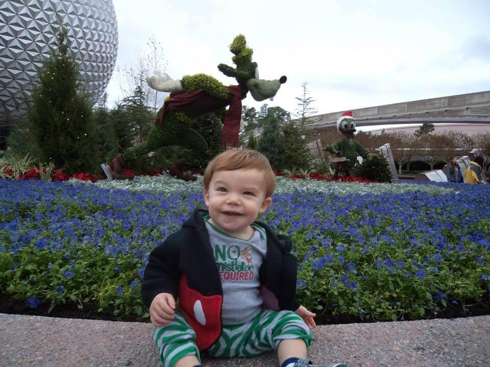 walt disney world with a baby