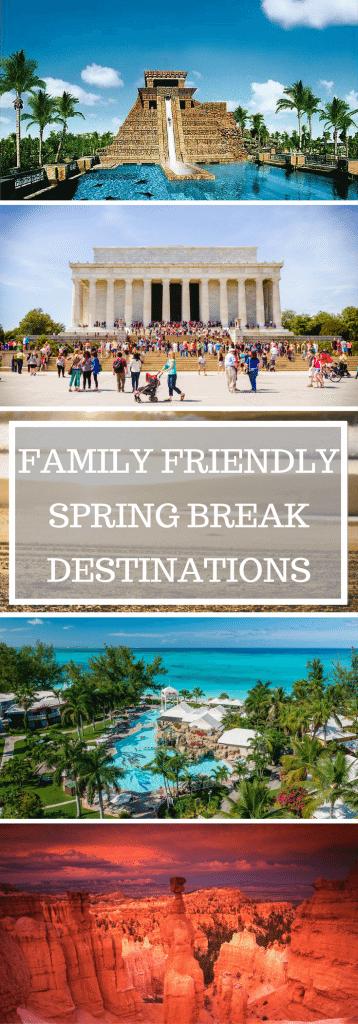 family spring break ideas