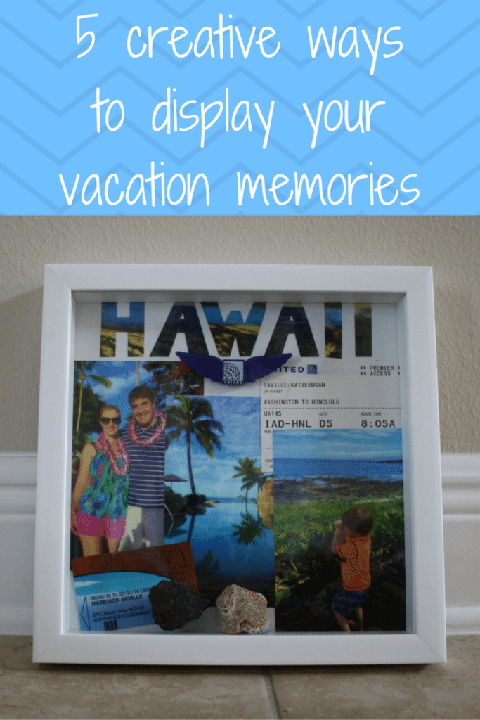 display vacation memories