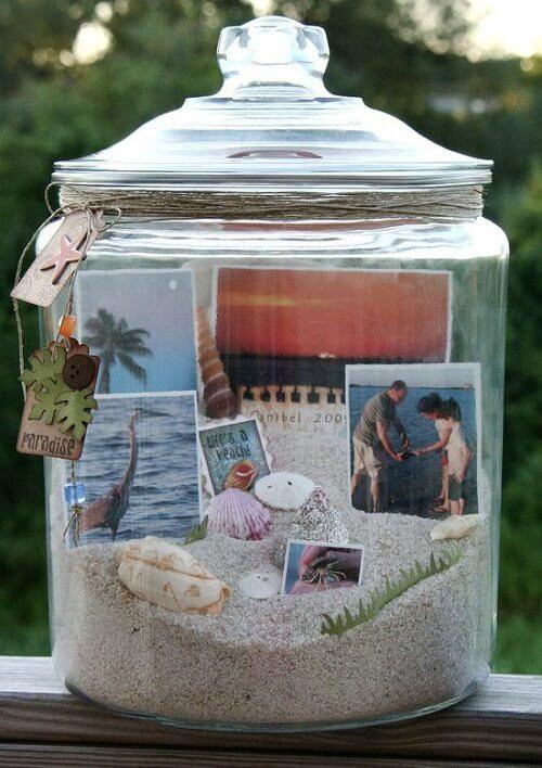 display vacation memories