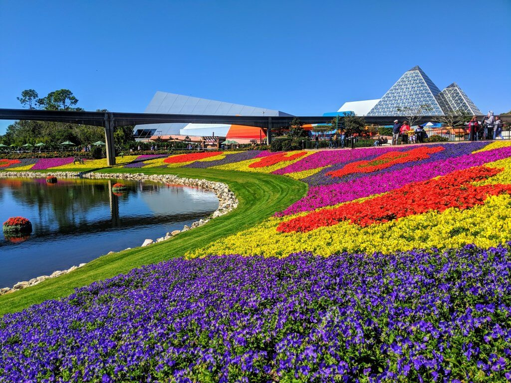 Epcot's Flower and Garden Festival with kids