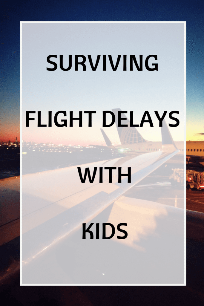 flight delays with kids