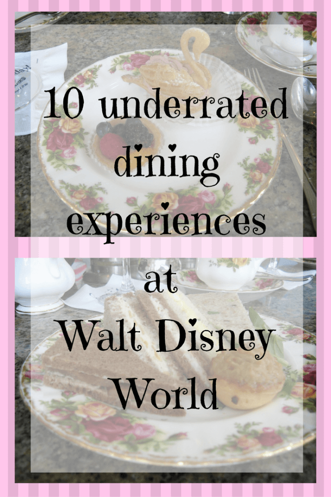 dining experiences at walt disney world