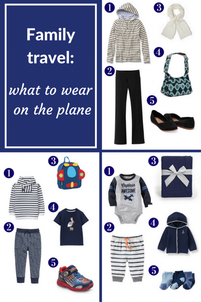 what to wear for plane travel
