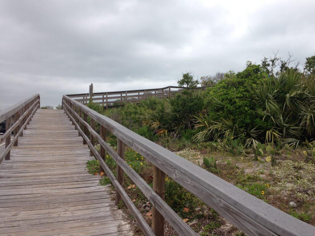 canaveral national seashore with kids