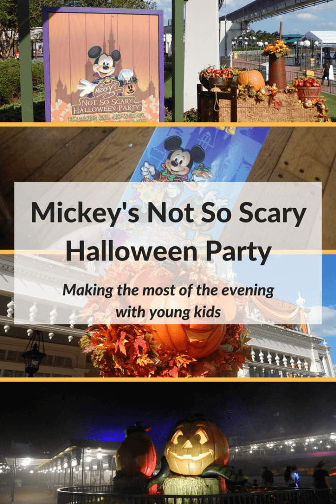 Mickey's Not So Scary Halloween Party with young kids