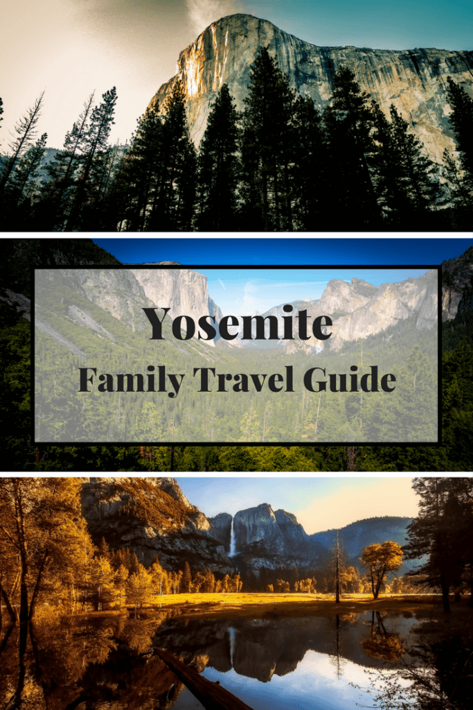 Yosemite family travel