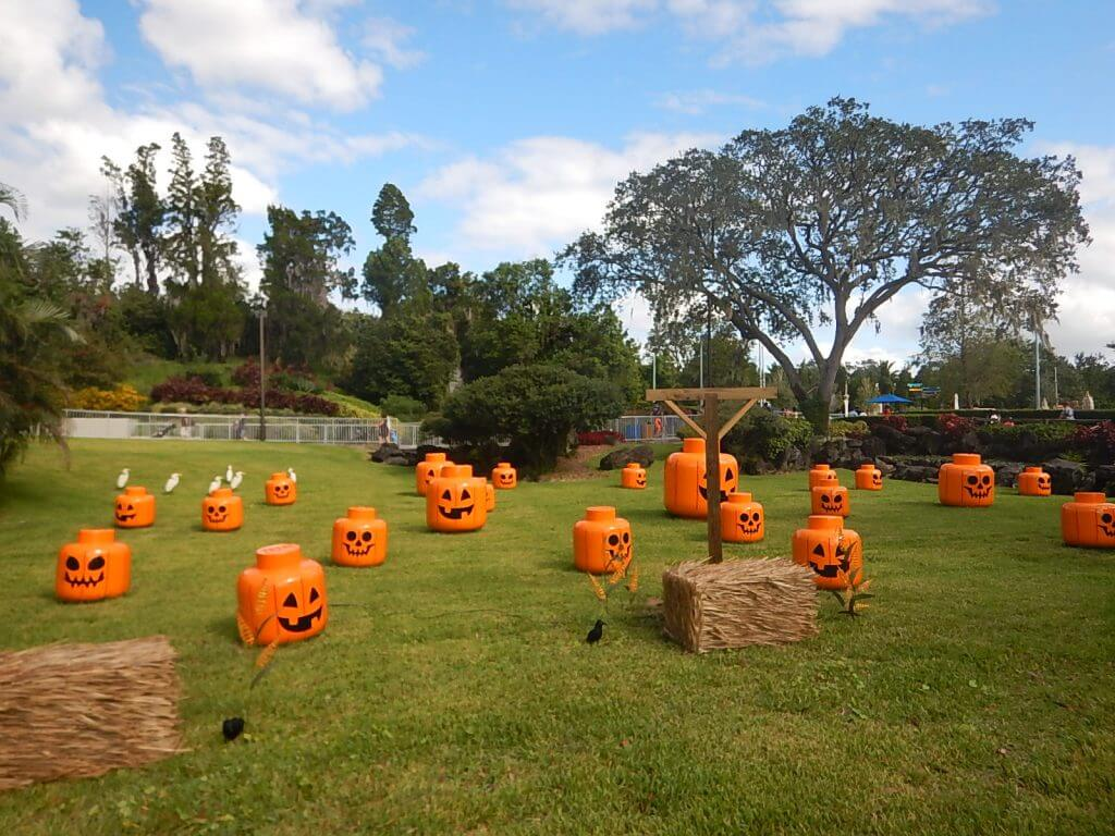 Legoland Florida Brick or Treat with kids