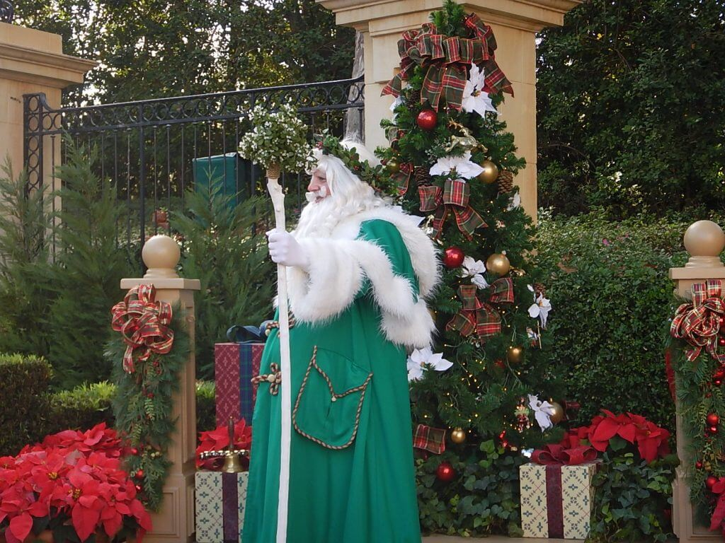 International Festival of the Holidays at Epcot with kids