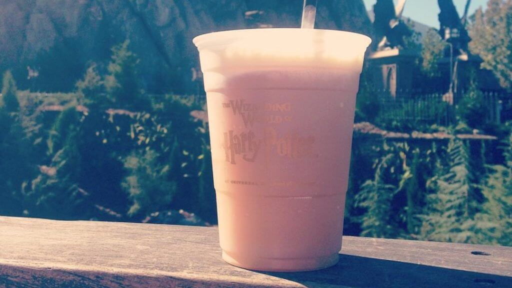 Snacks from The Wizarding World of Harry Potter butterbeer