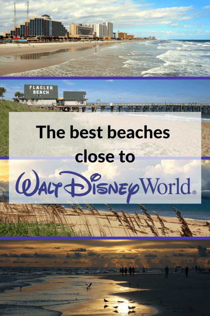 Beaches near Disney World pin