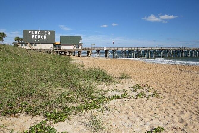 Beaches near Disney World Flagler