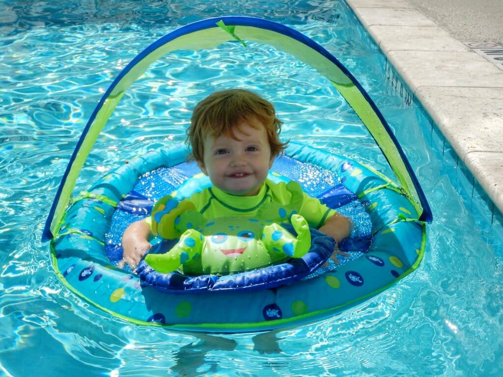 How I'm helping my toddler feel safe in the water