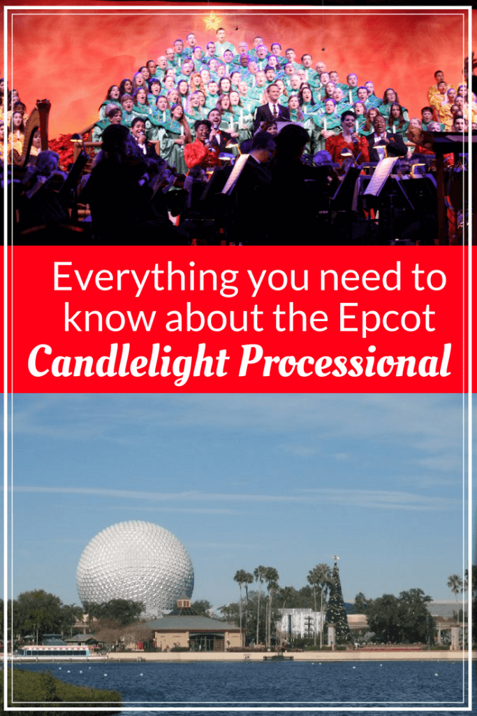 epcot candlelight processional with kids