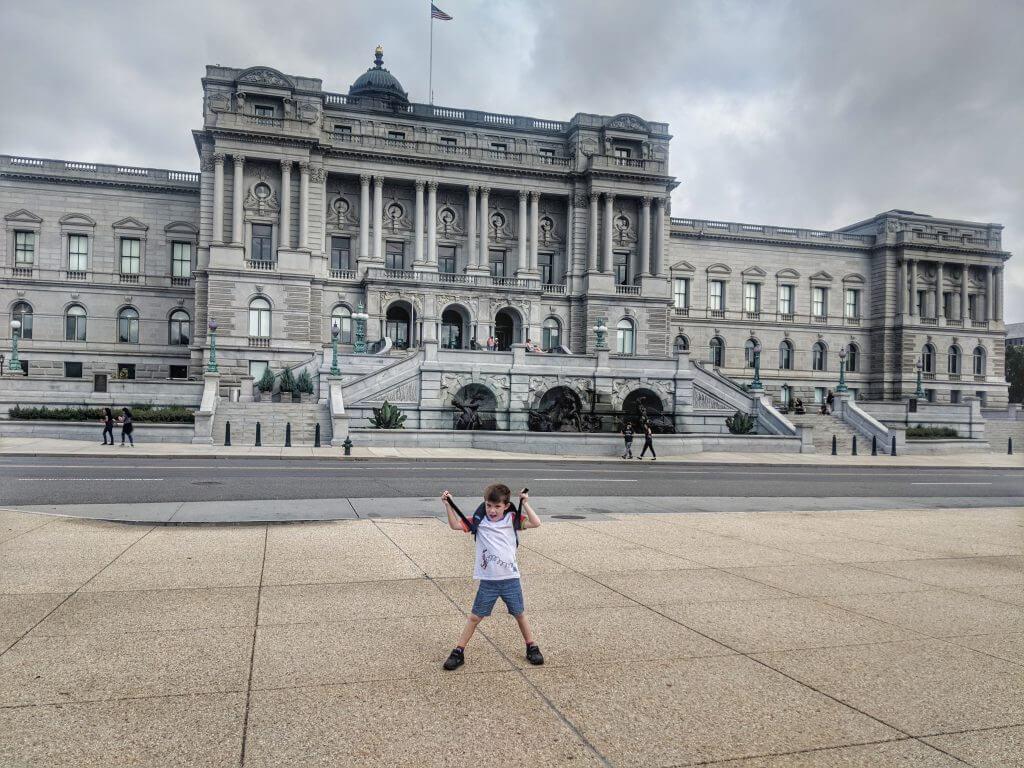 walking tour of Washington DC with kids