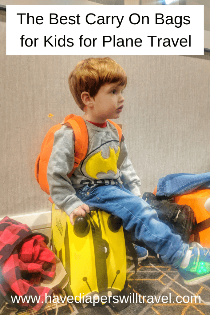 best carry on for kids for plane travel