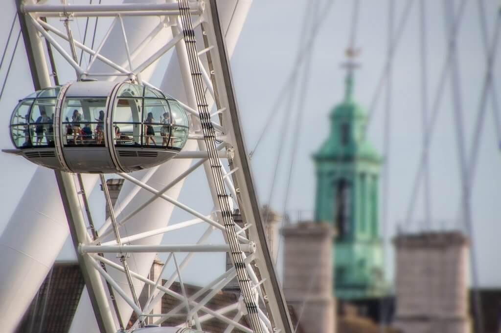 Layover in London London Eye