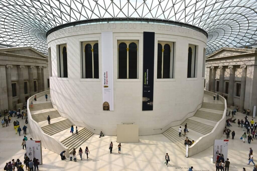 Layover in London British Museum