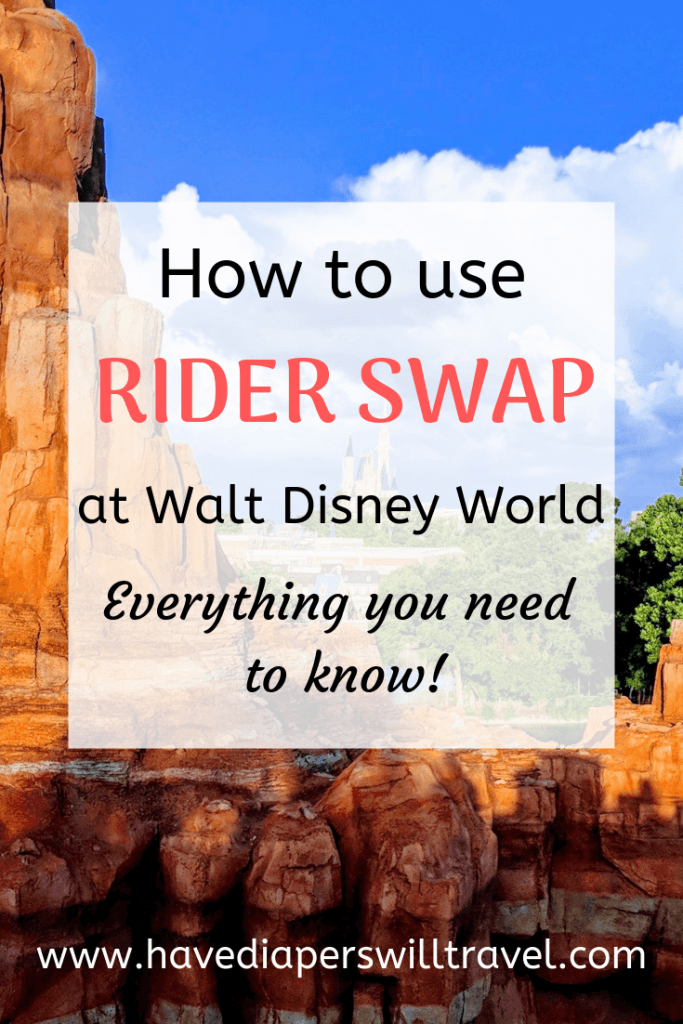 Walt Disney World rider swap
