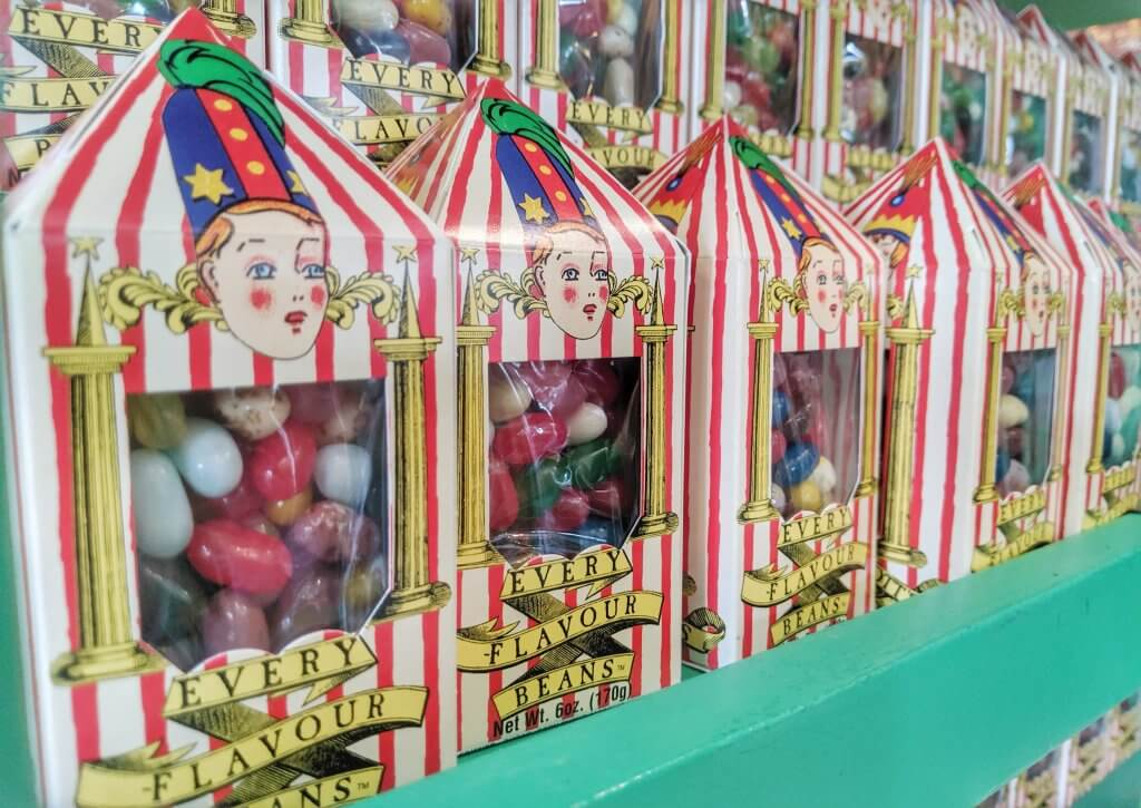 Snacks from The Wizarding World of Harry Potter bertie botts every flavor beans