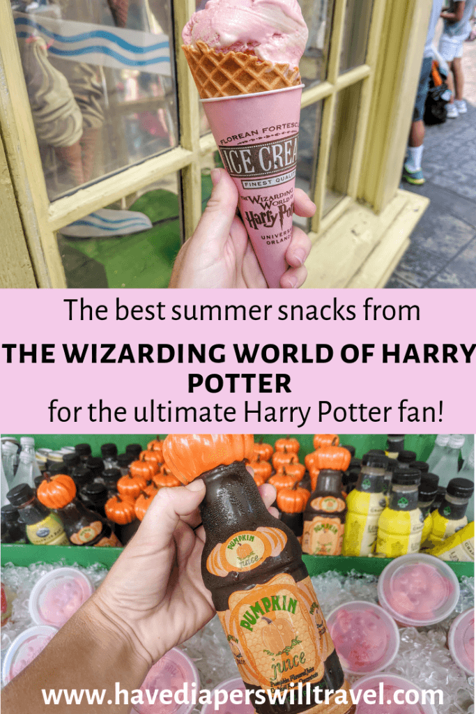 snacks from The Wizarding World of Harry Potter