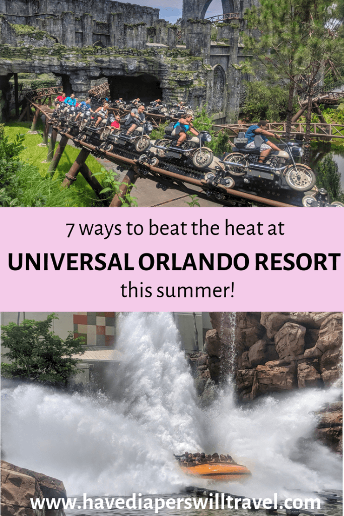 7 ways to beat the heat at Universal Orlando this summer