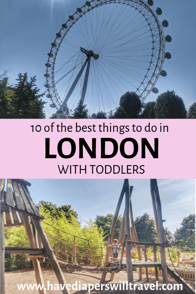 10 things to do in London with toddlers
