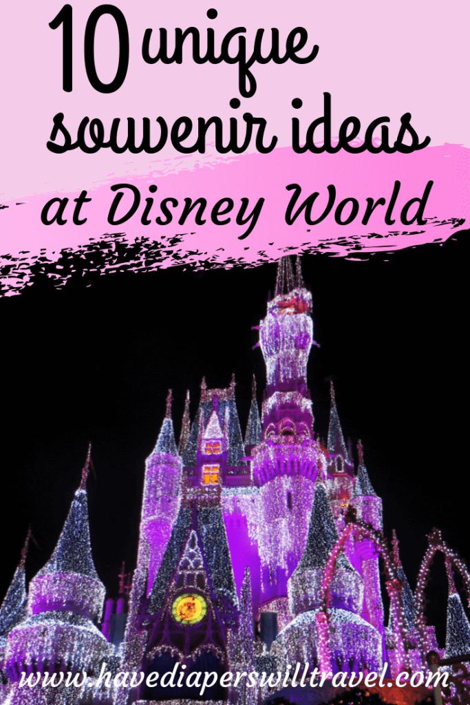 Unique Disney souvenirs
