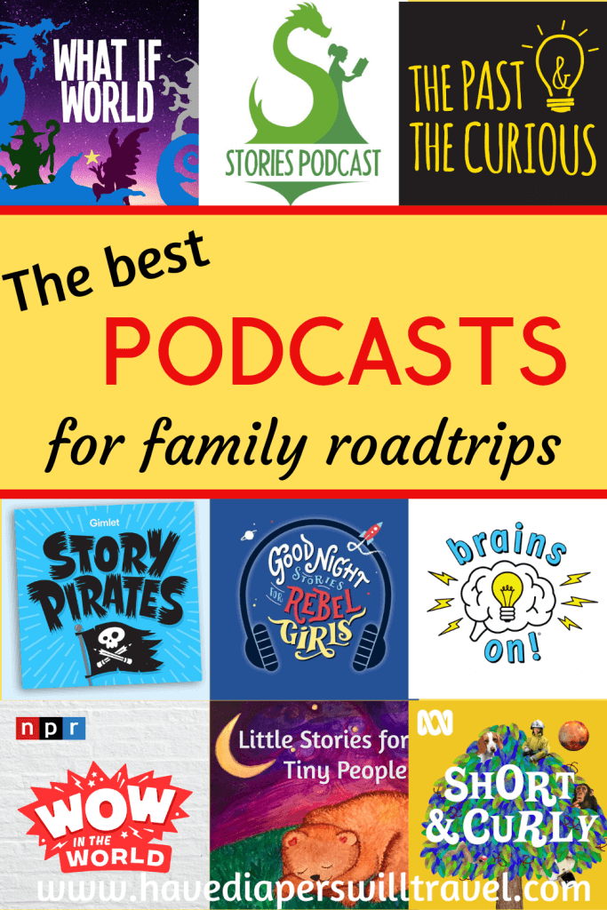 Podcasts for family road trips