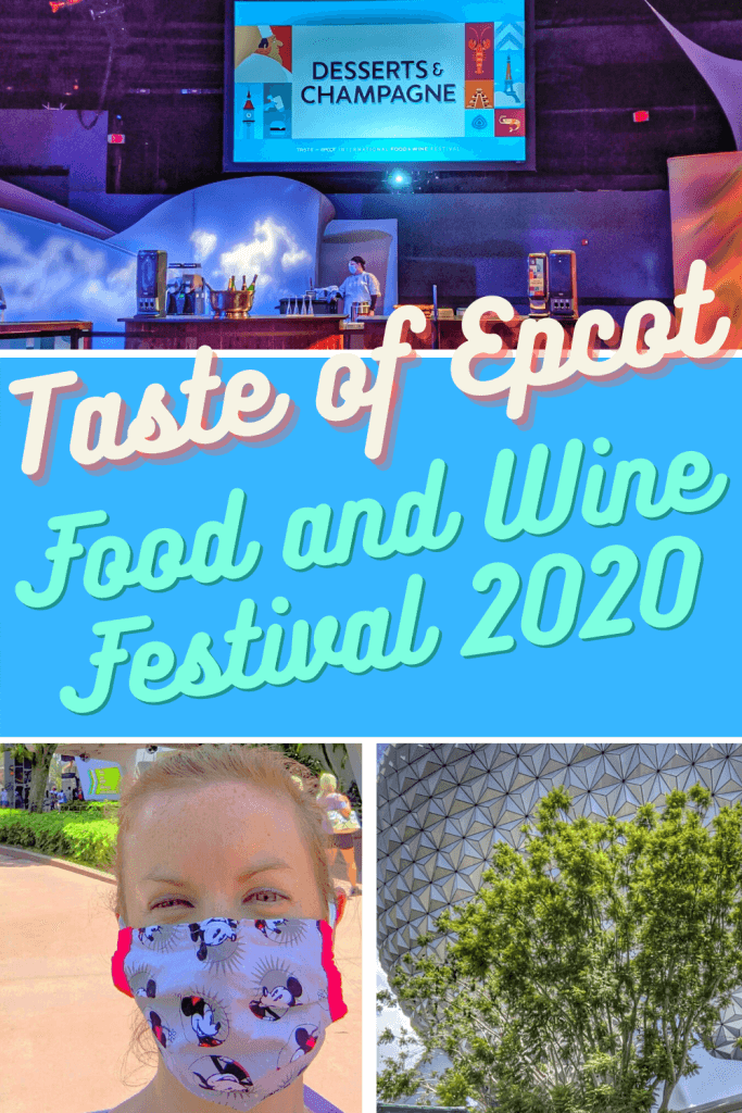Taste of Epcot Food and Wine Festival 2020