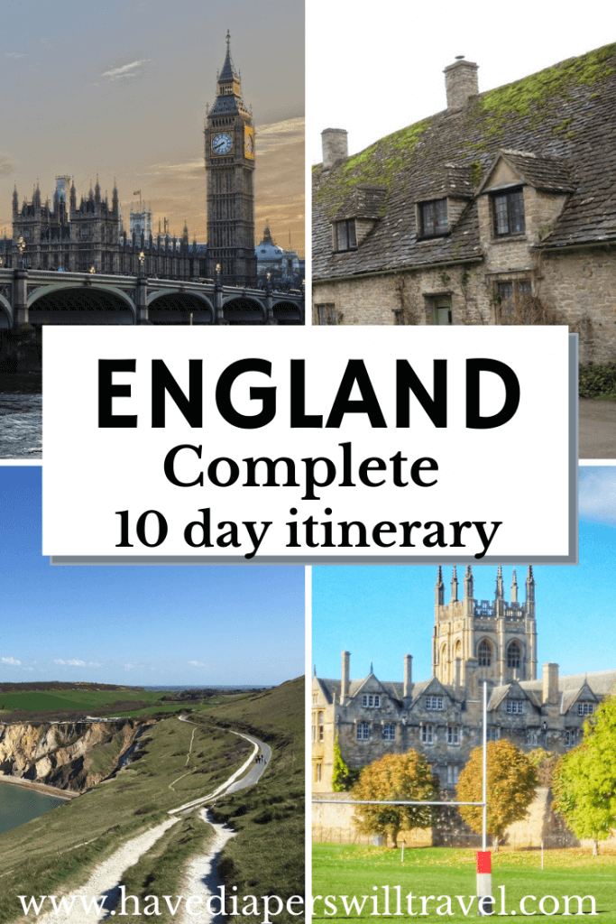 10 day England itinerary