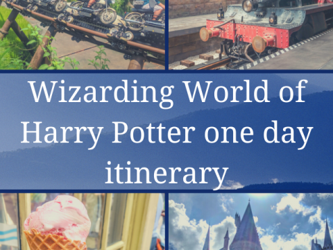wizarding world of harry potter one day itinerary